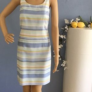 Raw silk Ann Taylor dress.